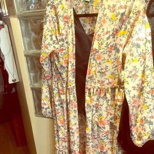 Super cute colors cover up - yellows -orange -